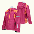 ONYONE[オンヨネ] SHELL JACKET ONJ07500-ONS 954/114 MAGENTA/ORANGE