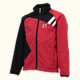 ONYONE[オンヨネ] SOFTSHELL JACKET ONJ98910 056x009 RED BLACK