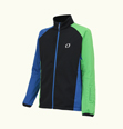 ONYONE[オンヨネ] Jr.SOFTSHELL JACKET ONJ79081 009x384 BLACKxGREEN