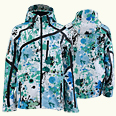 ONYONE[オンヨネ] PRINT OUTER JACKET ONJ91P42 624P TURQUOISE