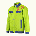 ONYONE[オンヨネ] OUTER JACKET ONJ96110 313 Lime Yellow