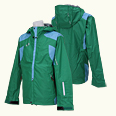 ONYONE[オンヨネ] SHELL JACKET ONJ97500S 455/613 GREEN/SKY
