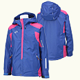 ONYONE[オンヨネ] SHELL JACKET ONJ97500S 685/954 BLUE/MAGENTA