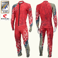 ONYONE[オンヨネ] GS RACING SUIT(For FIS)ジャイアントスラローム FIS対応 ONO90070 055 RED