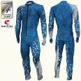 ONYONE[オンヨネ] GS RACING SUIT(For FIS)ジャイアントスラローム FIS対応 ONO90070 624 TURQUOISE