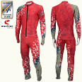 ONYONE[オンヨネ] DH RACING SUIT(For FIS)ダウンヒル FIS対応 ONO90071 055 RED