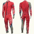 ONYONE[オンヨネ] GS RACING SUIT(Not FIS)ジャイアントスラローム FIS非対応 ONO90072 055 RED