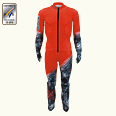 ONYONE[オンヨネ] GS RACING SUIT(For FIS) ONO91070 055 RED