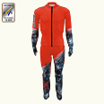 ONYONE[オンヨネ] DH RACING SUIT(For FIS) ONO91071 055 RED