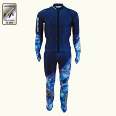 ONYONE[オンヨネ] DH RACING SUIT(For FIS) ONO91071 713 BLUE
