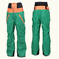 ONYONE[オンヨネ] OUTER PANTS ONP17550S 455/114 GREEN/ORANGE