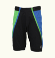 ONYONE[オンヨネ] Jr.SHORT PANTS ONP79083 009x384 BLACKxGREEN