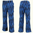 ONYONE[オンヨネ] PRINT OUTER PANTS アウターパンツ ONP99P50-2S 713PS ST-BLUE