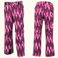 ONYONE[オンヨネ] PRINT OUTER PANTS アウターパンツ ONP99P50-2S 974PS ST-PINK