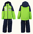 ONYONE[オンヨネ] Jr.ANDORRA SIDEOPEN SUIT レプリカモデル ONS703S2 333698 LIME×NAVY
