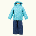 ONYONE[オンヨネ] キッズ 子供 スキーウェア 上下セット 2016-2017W RES59006-16 644P697 TURQUOISEXNAVY